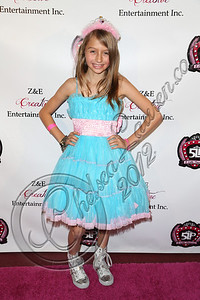 LOS ANGELES, CA - DECEMBER 15:  Actress Sophia Strauss arrives at the 5 Little Princesses music showcase at Studio Instrument Rentals, Inc. on December 15, 2012 in Los Angeles, California.  (Photo by Chelsea Lauren/WireImage)