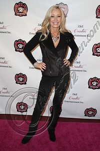 LOS ANGELES, CA - DECEMBER 15:  Host Leslie Birkland arrives at the 5 Little Princesses music showcase at Studio Instrument Rentals, Inc. on December 15, 2012 in Los Angeles, California.  (Photo by Chelsea Lauren/WireImage)