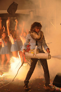 The Flaming Lips, Wayne Coyne, Party In The Park, Atlanta, GA. 2012