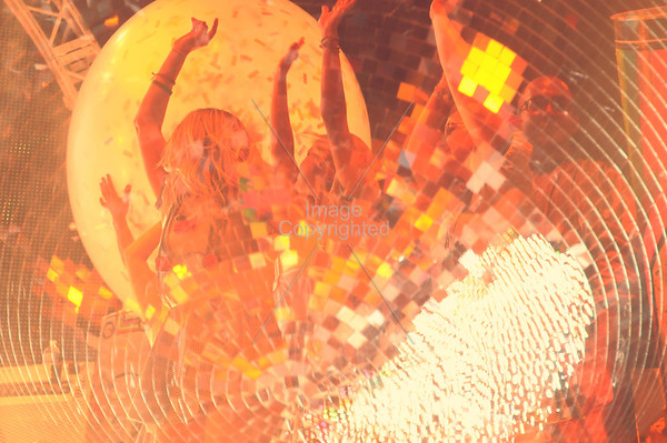 The Flaming Lips, Stage Dancers, Party In The Park, Atlanta, GA. 2012