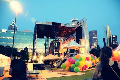The Flaming Lips, Party In The Park, Atlanta, GA. 2012