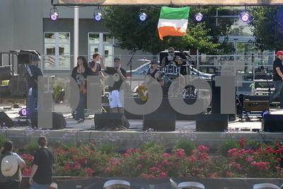 The Galway Hooker Band at Get Shamrocked 20 September 2014