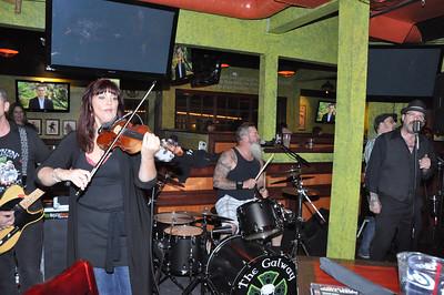 The Galway Hooker Band at the Tilted Kilt 26 November 2011