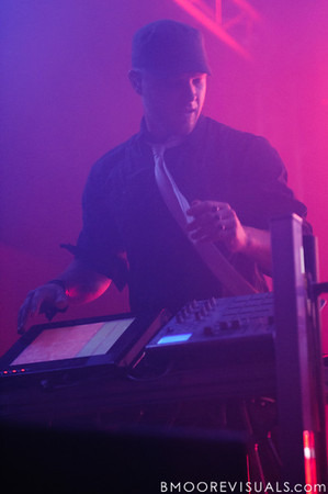Boreta of The Glitch Mob performs in support of Drink The Sea on July 13, 2011 at Czar in Tampa, Florida