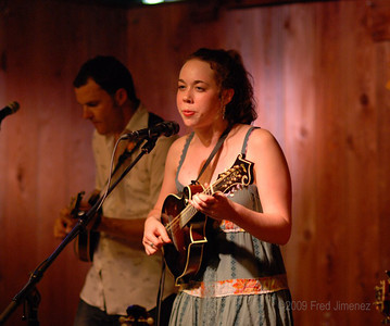 Sarah Jarosz opened the show and played a few tunes with the band.