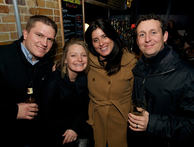 Ted, Tammy, Nori and Aaron of College Hill at Northside Tavern on Saturday