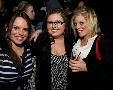 Jami Haring, Jessica Buckley and Kristin Robb from the West Side at Northside Tavern on Saturday