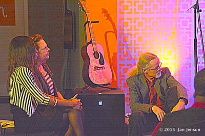 Amanda Hampton, Lou Houge, John Biggers @ The House that Rocks in Indian Trail, NC  11-20-15