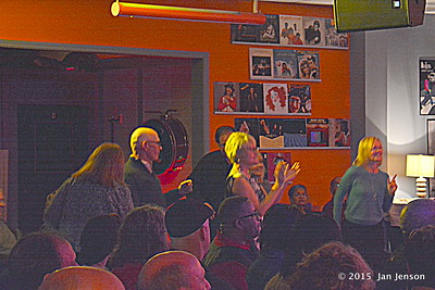Some of the crowd @ The House that Rocks in Indian Trail, NC  11-20-15