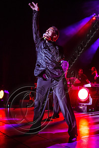 LOS ANGELES, CA - JULY 22:  Marlon Jackson performs at The Greek Theatre on July 22, 2012 in Los Angeles, California.  (Photo by Chelsea Lauren/WireImage)