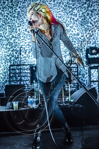 LOS ANGELES, CA - AUGUST 13:  Vocalist Alison Mosshart of The Kills performs at The Mayan on August 13, 2012 in Los Angeles, California.  (Photo by Chelsea Lauren/WireImage)