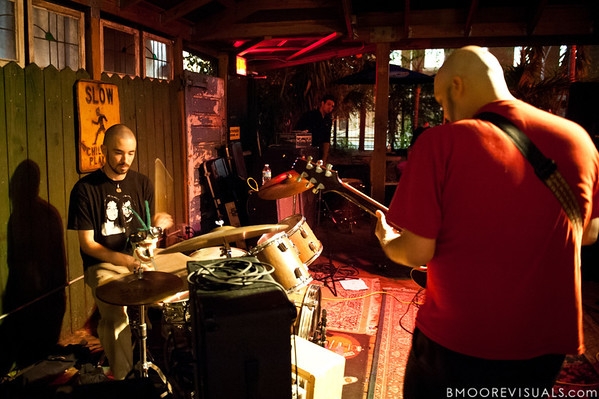 Life of Pi performs on November 24, 2010 at New World Brewery in Ybor City, Tampa, Florida