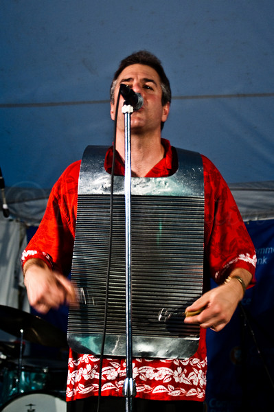 """Eddie """"Duato"""" Scheer, Leader, Vovals and various percussion."""