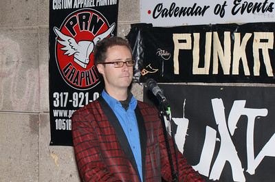 Sean Baker, talented pianist, jingle writer and leader of Indianapolis' premier vocal jazz/lounge outfit, Four Sexes.