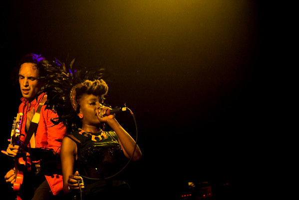 The Noisettes - Irving Plaza, NYC - October 19th, 2007 - Pic 1