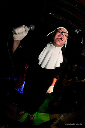 Jim StrumeNun The Nuns of Brixton Larimer Lounge Denver, CO April 1, 2011