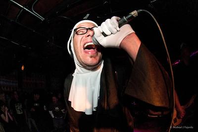 Jim StrumeNun Nuns of Brixton Larimer Lounge Denver, CO March 1, 2011
