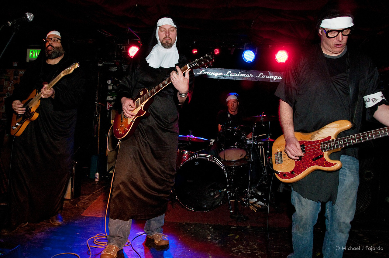 The Nuns of Brixton Larimer Lounge Denver, CO March 1, 2011
