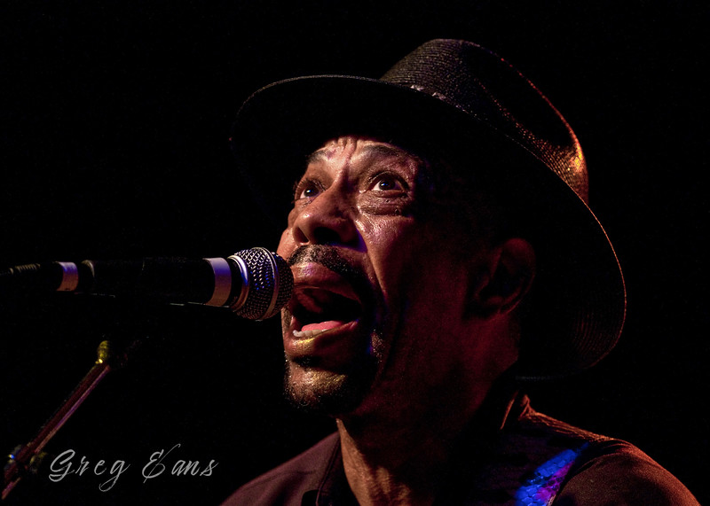 John Primer performs during the W. C. Handy Blues and Barbecue Festival in Henderson.  (Photo by Greg Eans)