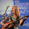 Nora Jean Struthers performs with her band Nora Jean Struthers & the Bootleggers at Bluegrass in the Park at Audubon Mill Park in Henderson.  (Photo by Greg Eans)