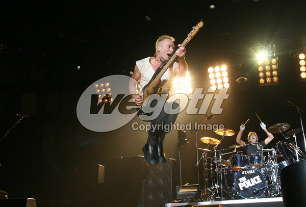 The Police 19-SEP-2007 @ Stadthalle, Vienna, Austria © Thomas Zeidler