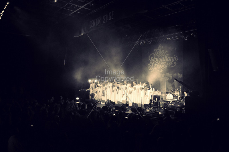 The Polyphonic Spree, Atlanta,GA. Center Stage, 2012.
