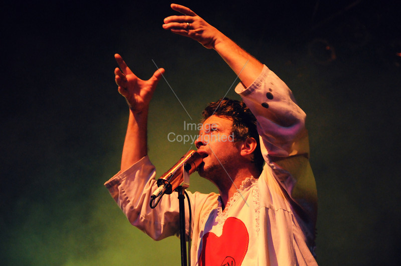 Tim DeLaughter, The Polyphonic Spree, Atlanta, GA. Center Stage,2012.