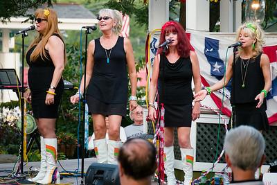 The Pop Tarts at Brecksville Gazebo 8/10/14