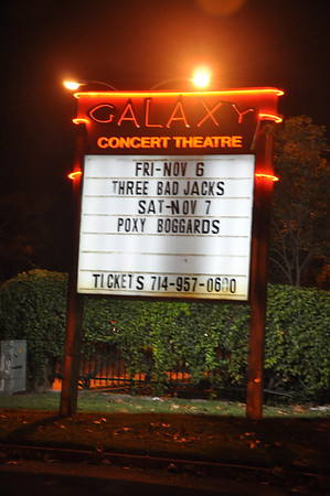 The Poxy Boggards at the Galaxy 7 November 2009