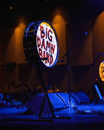 The Reverend Peyton Big Damn Band New Year's Eve show at the Brown County Music Center. Photo by Tony Vasquez