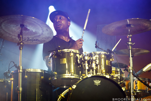 Frank Knuckles of The Roots performs at The Citrus Bowl in Orlando, Florida during Orlando Calling on November 12, 2011