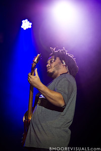 Mark Kelley of The Roots performs at The Citrus Bowl in Orlando, Florida during Orlando Calling on November 12, 2011