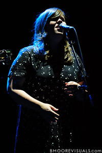 Laura Rogers of The Secret Sisters performs on November 5, 2010 at Ruth Eckerd Hall in Clearwater, Florida