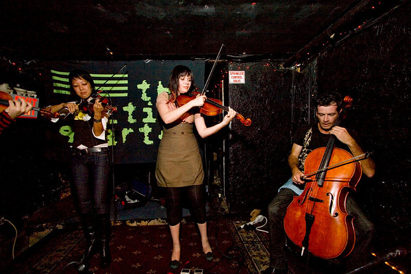 The Section Quartet - Lit Lounge, NYC - October 17th, 2007 - Pic 2
