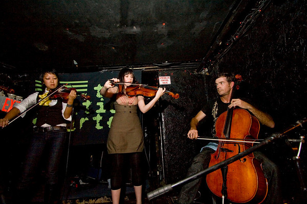 The Section Quartet - Lit Lounge, NYC - October 17th, 2007 - Pic 3