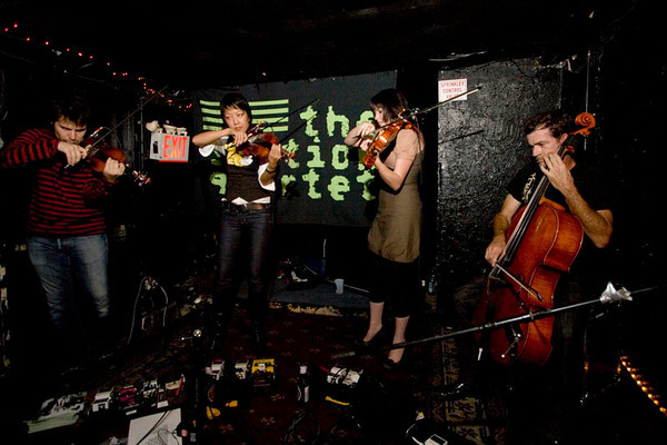 The Section Quartet - Lit Lounge, NYC - October 17th, 2007 - Pic 4