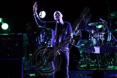 UNIVERSAL CITY, CA - OCTOBER 14:  Musician Billy Corgan of The Smashing Pumpkins performs at Gibson Amphitheatre on October 14, 2012 in Universal City, California.  (Photo by Chelsea Lauren/WireImage)