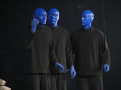 Blue Man Group - 9 Feb 07 - Arco Arena - Sacramento, CA