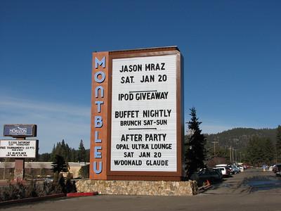 Jason Mraz - 20 Jan 07 - Montbleu Resort - Lake Tahoe, NV