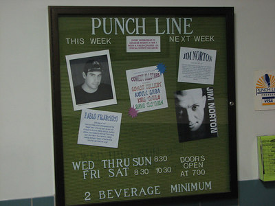 Pablo Francisco - 19 Jan 07 - Punchline Comedy Club - Sacramento, CA