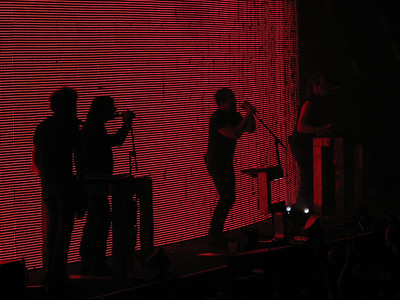 Nine Inch Nails - 12 Dec 08 - Arco Arena - Sacramento, CA