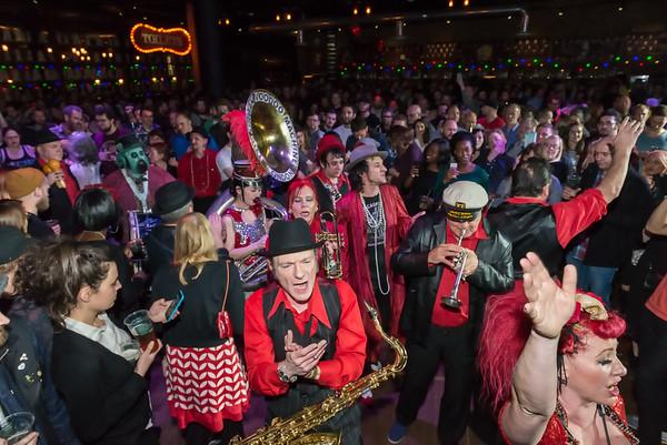 The Urban Voodoo Machine Marching Band