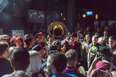 TUVM Marching Band Brooklyn Bowl Dec 2015
