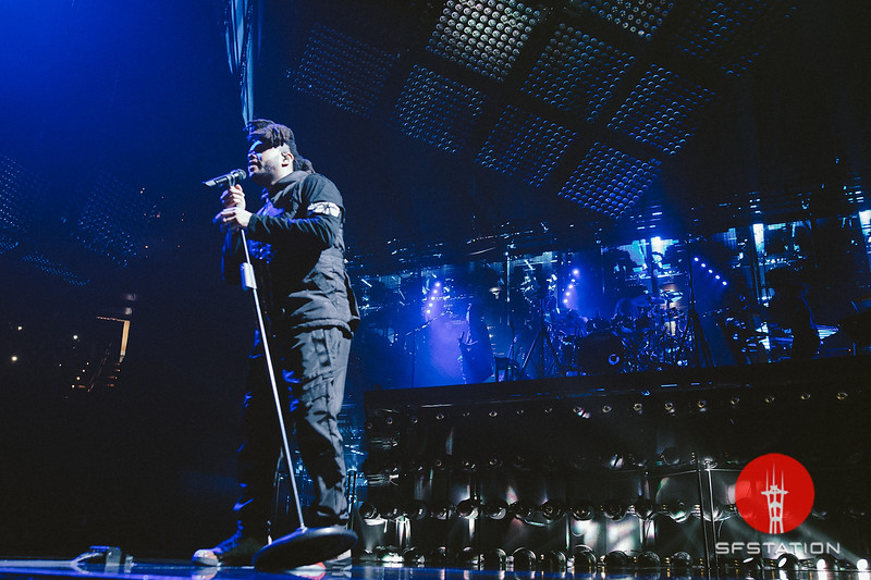 The Weeknd, Dec 5, 2015 at Oracle Arena