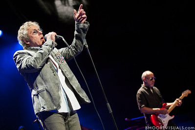 "Roger Daltrey and Pete Townshend of The Who perform ""Quadrophenia"" on November 3, 2012 at Amway Arena in Orlando, Florida"