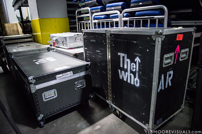 "A backstage view before The Who perform ""Quadrophenia"" on November 3, 2012 at Amway Arena in Orlando, Florida"
