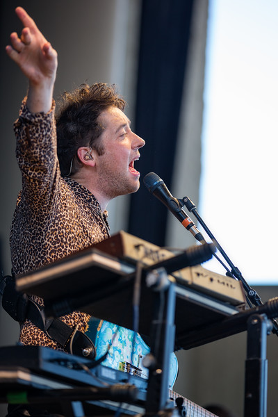 July 8, 2018 The Wombats at Ruoff Home Mortgage Music Center. Photo by Tony Vasquez.