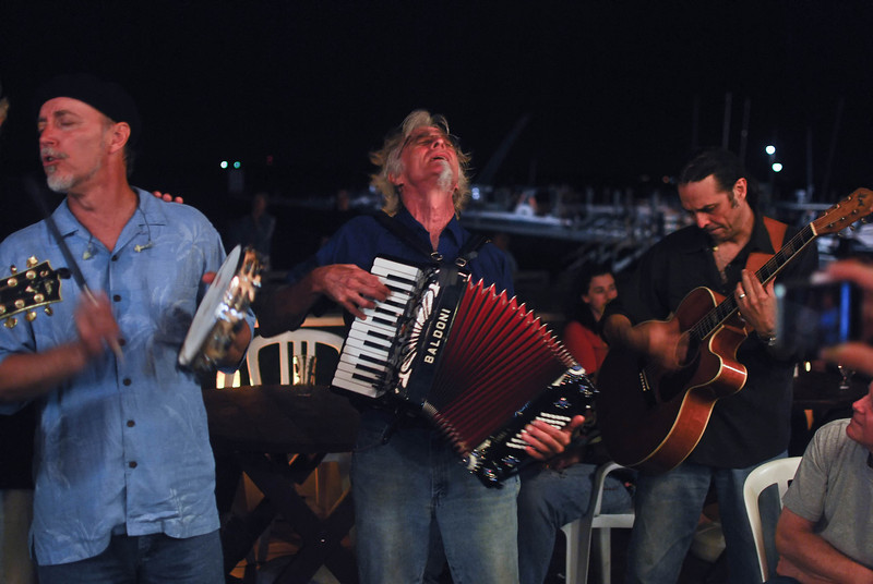 the subdudes- Encores on the back deck of Maguire's5 (Ocean Beach, NY- Fri 7/30/10)