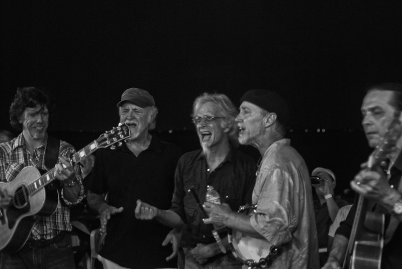 the subdudes- Encores on the back deck of Maguire's1 (Ocean Beach, NY- Fri 7/30/10)