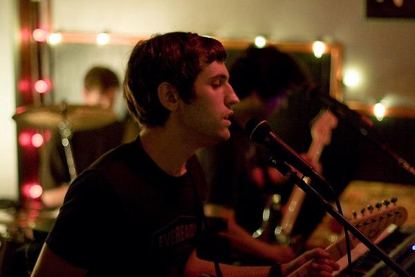 tim kratzer on vocals and gutiar